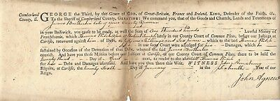 Declaration of Independence Signer James Wilson, Spies Committee, 1776 Autograph