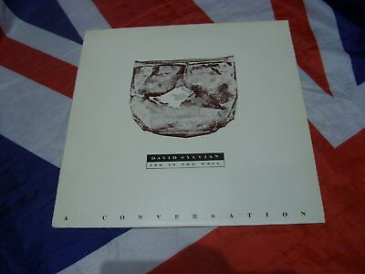 David Sylvian Ink In The Well A Conversation Promo Only Vinyl Lp No 0193 Of 500