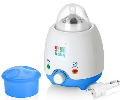 Electric Bottle Milk and Food Warmer Home and in the Car For The Most Bottles