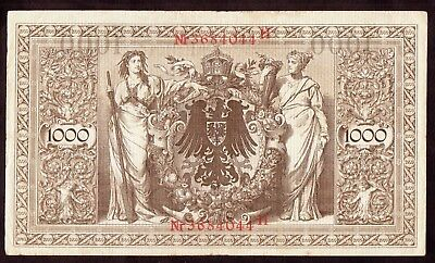 1910 1000 Mark Germany vintage paper money banknote old currency antique rare