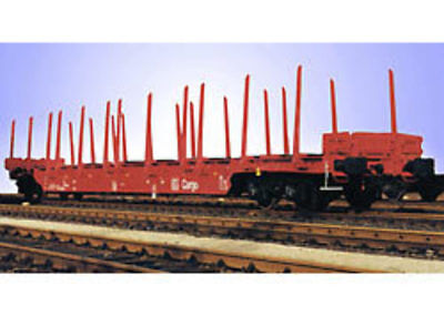 Lgb - 41920 - *db Flat Car With Stakes G Scale