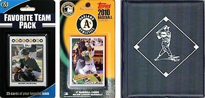 C & I Collectables 2010ASTSC MLB Oakland Athletics Licensed 2010 Topps Team