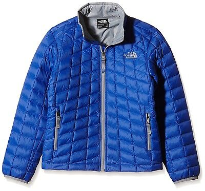 (X-Large/Youth, Blue/Marker Blue) - The North Face Boy's Thermoball Full Zip