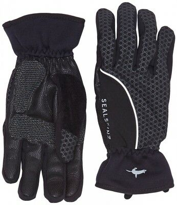 (X-Large, Black/Grey) - Sealskinz Men's Performance Road Cycle Glove. Brand New