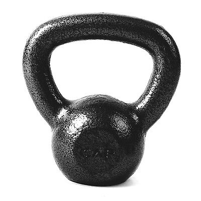 (15 pounds) - CAP Barbell Cast Iron Kettlebell, Black. Free Shipping