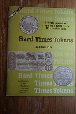 2 copies Hard Times Tokens by Russell Rulau 1980 & 1981