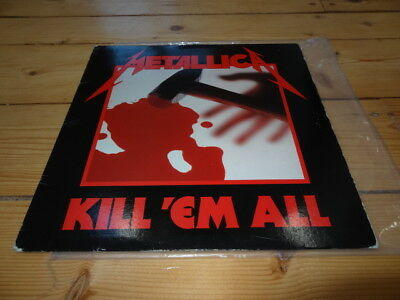 METALLICA Kill Em All LP 1st Pressing 83 BANZAI Megaforce Records BRC 1901 RARE