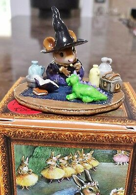 "Wee Forest Folk M-374z ""Hocus Pocus"" MOUSE EXPO 2011 SPECIAL SOLD OUT Mint"
