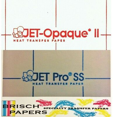 "Inkjet Combo (8.5""x11""): Jet Opaque Ii (10 Ct) / Jet Pro Soft Stretch (15 Ct)"