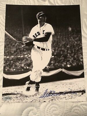 Ted Williams Autographed 8x10 Photo----- Certified