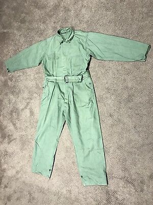 Original RARE WWII US Army 1st Pattern HBT Tanker Coveralls size 42R