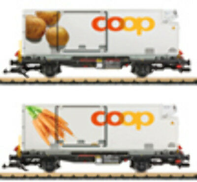 LGB - 45898 Container Wagon-Set Coop RhB G SCALE