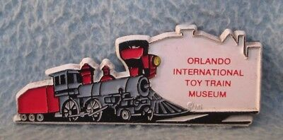 Orlando International Toy Train Museum Florida Magnet Souvenir Travel Fridge