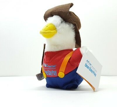 SOUND WORKS - New w/ Tags AFLAC Duck Miner Plush One Day Pay Smart Claim Program