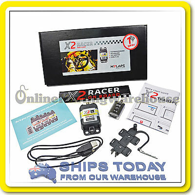 Go Kart My Laps Transponder Complete Kit Ka Compulsory Mylaps With Charger New !