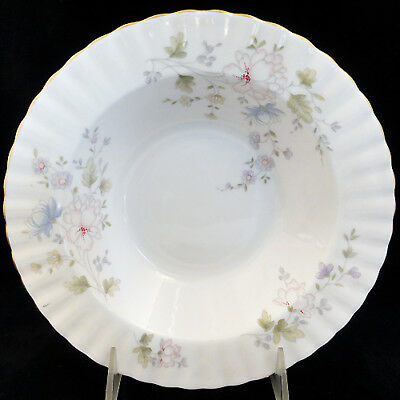 "MEADOW FLOWER Royal Albert Rim Soup Bowl 8"" Bone China England NEW NEVER USED"