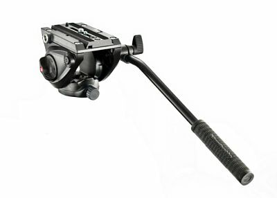 Manfrotto MVH500AH Light Weight Fluid Video Head with Flat Base Load 5kg ~ NEW