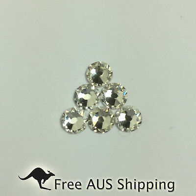 Crystal Clear Non Hotfix Flatback Rhinestones SS20 100pcs-Beautiful Sparkle AAA+