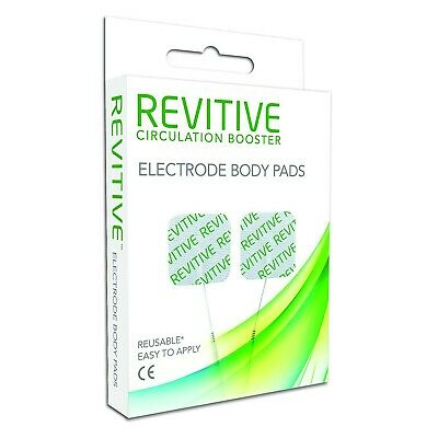 Revitive Circulation Booster Electrode Body Pads Pack of 4 Reusable
