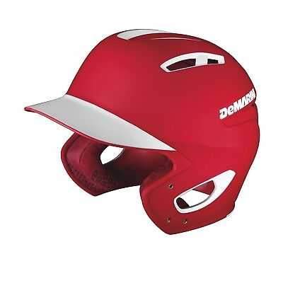 (Youth, Scarlet) - DeMarini Paradox Two-Tone Batting Helmet. Delivery is Free