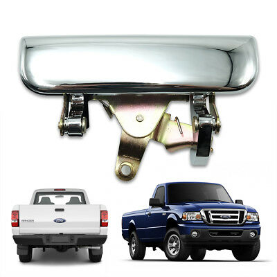 Rear Tailgate Handle Chrome 1 Pc For Ford Ranger Mazda B2500 1998 - 2006