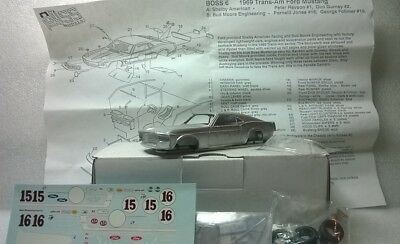 OCCASION Ford Mustang Trans Am 1969 1/43 SMTS