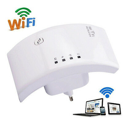300Mbps Wireless N 802.11 AP Range Router Wifi Repeater Extender Booster Kit