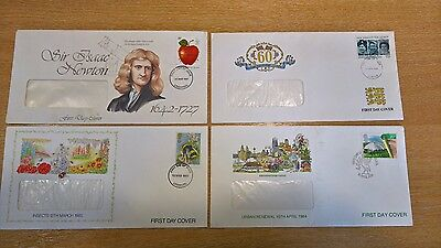 Selection of 1980s First Day Covers