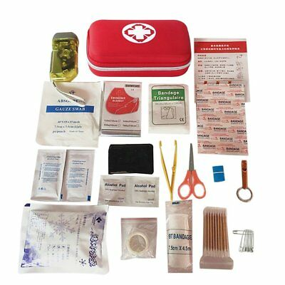 Waterproof Car Outdoor Travel First Aid Kit Medical Emergency Survival Box MN