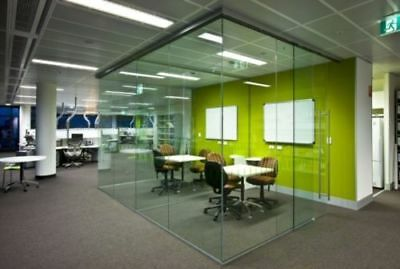 Demountable Office Glass Partitions - Fully relocatable glass partitions
