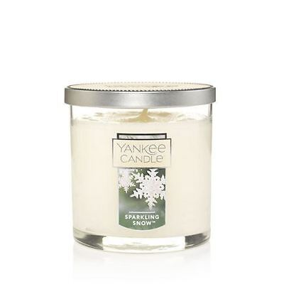 Yankee Candle Small 7oz Tumbler Candle Snow In Love 35-45 Hour Burn Time