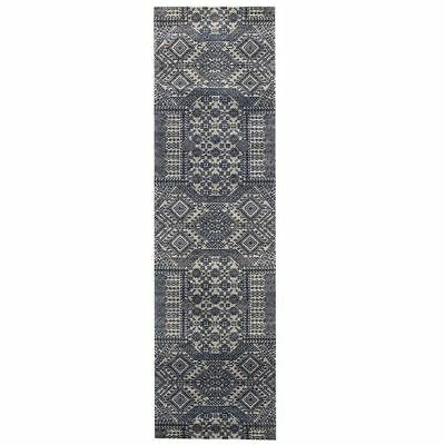 NEW Rug Culture Alarie Modern Runner Rug in Silver