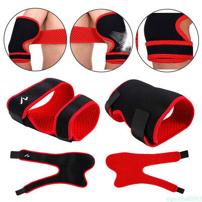 Tennis Elbow Support Brace Golfer's Strap Epicondylitis Lateral Pain Gym ZX3