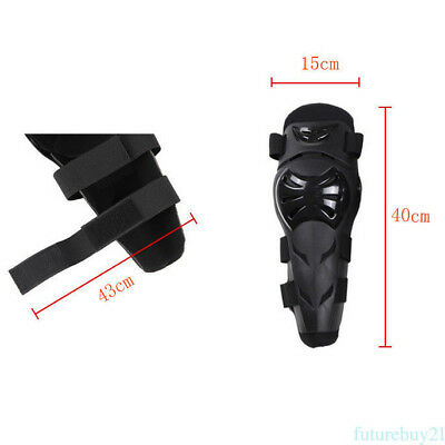 4pcs Rider Elbow Pad Knee Guard Support Armor Protector Gear For Motorcycle Bike