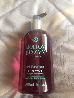 MOLTON BROWN PINK PEPPERPOD BODY WASH  500ml  supersize