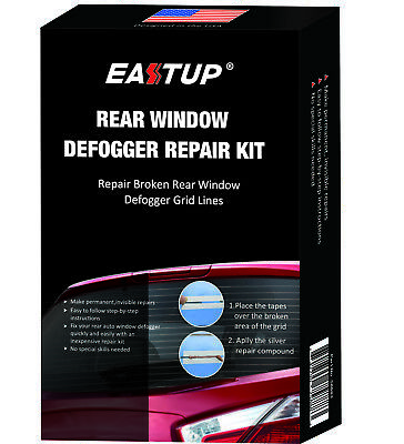 Rear Window Defogger Grid Lines Repair Kit Auto Window Defroster Fix Repair Kit