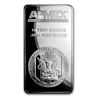 Special Price! 10 oz APMEX Silver Bar .999 Fine - SKU #88929