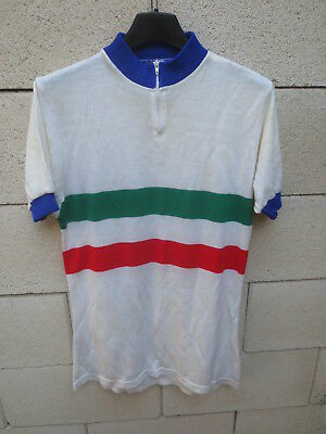 Maillot cycliste ITALIE maglia ciclismo ITALIA ITALY shirt jersey vintage 70's