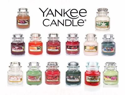 Yankee Candle Small Scented Fragranced Classic Candle Jar 25-40 Hours Burn Time