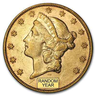 US Gold $20 Liberty Head Gold Double Eagle Random Date XF Condition Pre 1933