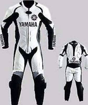 Men's Women's 1 & 2Pc Yamaha Leather Motorbike Suit for daytona bike week 2019