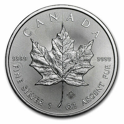 2014 Canada 1 oz Silver Maple Leaf BU - SKU #79020