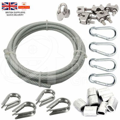 30 Meters Gym Machine Cable Cable Nylon Steel Wire Rope Replacement Accessories