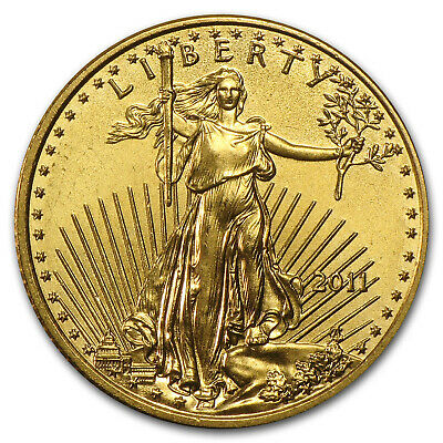2011 1/10 oz Gold American Eagle BU - SKU #59149