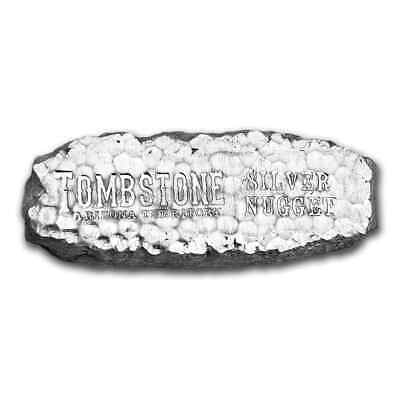 10 oz Silver Bar - Tombstone Silver Nugget - SKU #84776