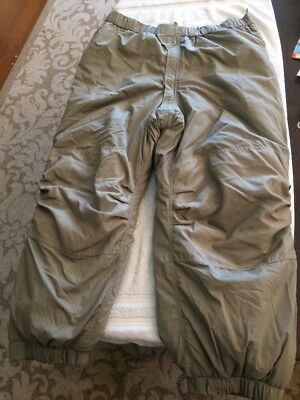 Gen III ECWCS Extreme Cold Weather Trousers Pants Bottom Military New Lg/Reg