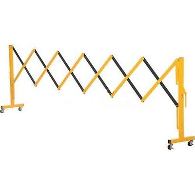 Vestil Portable Barricade Gate With Connection Hinge, Aluminum, Lot of 1