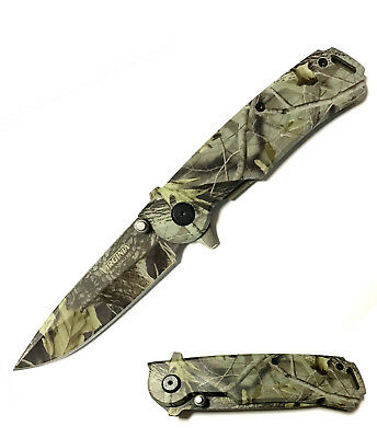 Coltello Virginia camo mimetico outdoor
