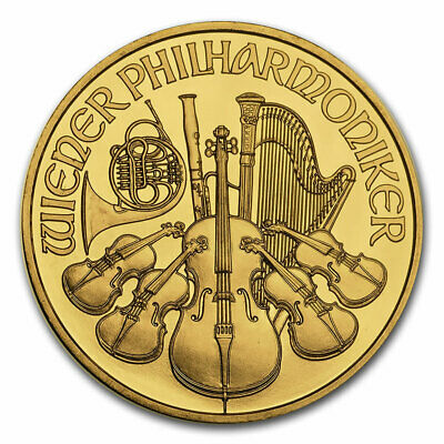 1 oz Gold Austrian Philharmonic Coin Random Year - SKU #85597