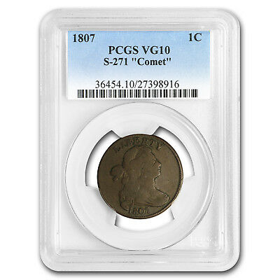 1807 Large Cent VG-10 PCGS Comet Variety